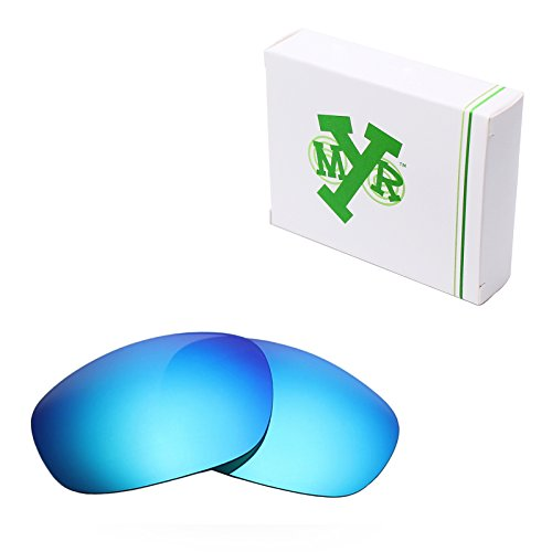 Mryok Polarized Replacement Lenses for Oakley Big Square Wire - Ice (Big Square Wire)