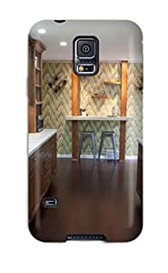 Cute Appearance Cover/tpu ZtDfPIe7798peDiX Family-friendly Galley Ktichen With Hardwood Floors And Recessed Lighting Case For Galaxy S5