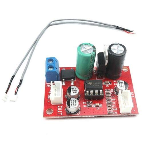 Ic Stereo Preamp - NE5532 Dynamic Microphone Stereo Preamp Amplifier Board + Signal Shielding
