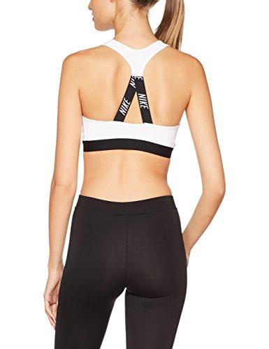 Black Read Sport Femme Black Blanco Logo Soutien white Pro Nike Classic gorge De Bra CqOOBw
