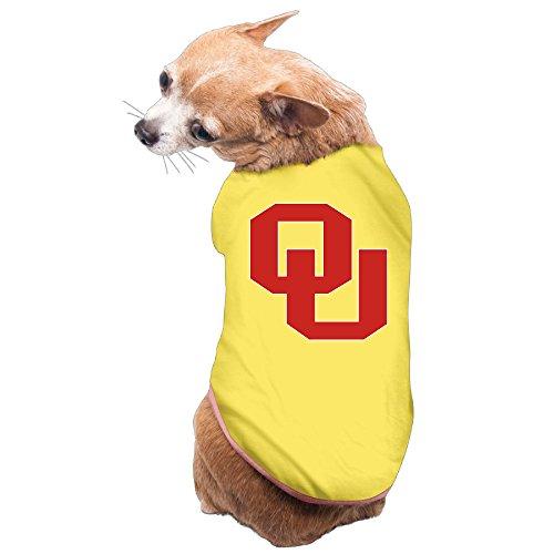 jjvat-university-of-oklahoma-pet-doggy-t-shirt-size-l-yellow