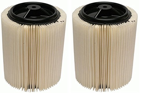 Ridgid 72947 VF4000RT Standard Filter (Pack of 2) by Ridgid