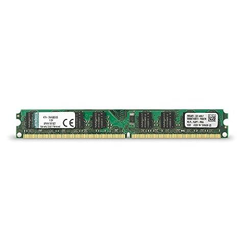 Kingston 2 GB DDR2 SDRAM Memory Module 2 GB (1 x 2 GB) 667MHz DDR2667/PC25300 (Ddr2 Sistema)
