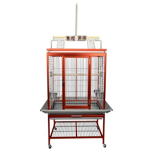 Aluminum Playpen Top Bird Cage ACP2522 Red