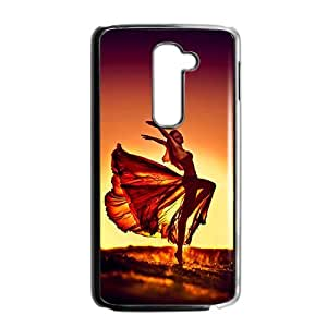 Dancing beautiful girl lovely phone case for LG G2