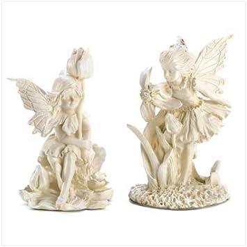 Amazoncom Garden Fairy Figurines Home Kitchen
