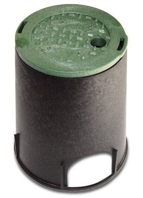 Nds 107BC Underground Sprinkler Irrigation Control Valve Box, 6-In.