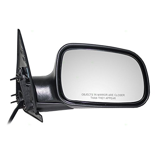 Passengers Power Side View Mirror Textured Replacement for Jeep SUV 55155446AG AutoAndArt
