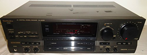 Technics SA-GX303 AV Audio Video Control Center Stereo