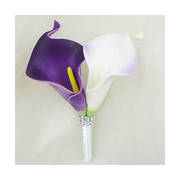 Lily-Garden-Real-Touch-Calla-Lily-Purple-and-White-Flowers-Wedding-Bouquet