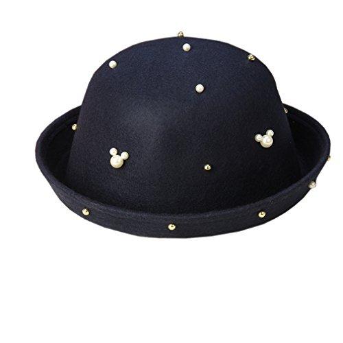 Femme Chapeau Bleu Foncé Unique Taille Acvip Melon gRqaP86