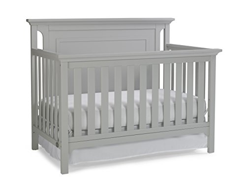 Ti Amo Carino 4-in-1 Convertible Crib, Misty Grey