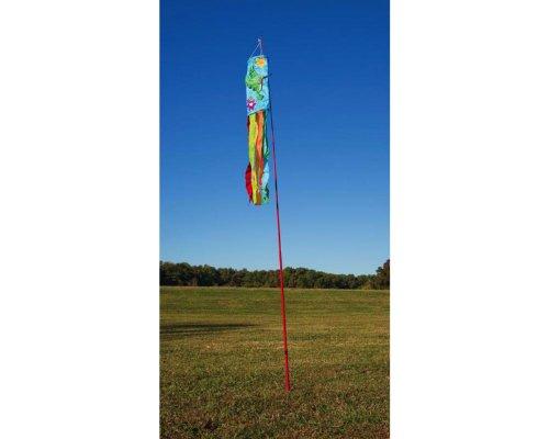 Teleskop flexible flagge pole amazon garten