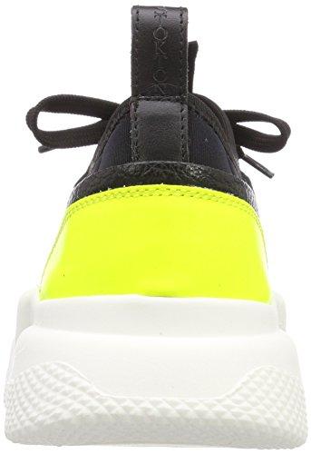 Formatori Tennis Da Stokton Giallo nero Scarpa Giallo Donne Nero Delle Multicolore qR4Eap