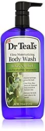 Dr. Teal\'s Ultra Moisturizing Body Wash Relax and Relief with Eucalyptus Spearmint, Pack of 4