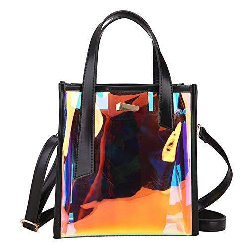 à For Transparent Sunonip Sac Bags noir bandoulière Women HEXqW7vq