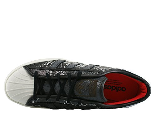 adidas Superstar W, Zapatillas de Running, Mujer Negro (Noir/Gris)