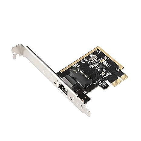 CUHAWUDBA Adaptadores de Tarjeta LAN de Red Gigabit Ethernet PCI-e ...
