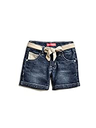 GUESS Factory Anne Sequin Shorts (2-6)