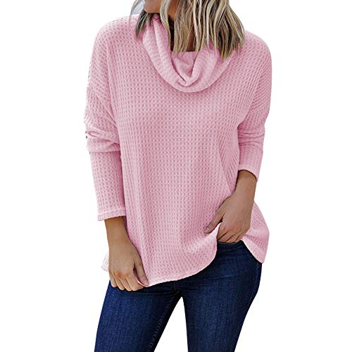 - Byyong Womens Fashion Long Sleeve Solid Shirt Turtleneck Plus Size Blouse Top Pullover