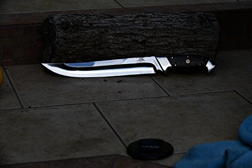DKC Knives DKC-UL-120 Captain Hook Fixed Blade Loveless Style Bowie Hunting Knife 15
