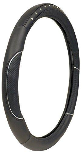- Custom Grip 38465 Black Soft Grip Jewels Steering Wheel Cover