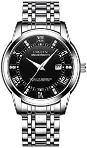 Fngeen dress watch for men Analog Stainless Steel-F195113