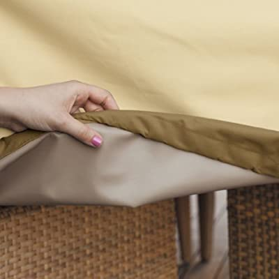 Classic Accessories Veranda Water-Resistant 84 Inch Round Hot Tub Cover : Garden & Outdoor