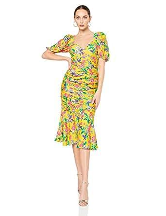 Talulah Women's Finch Midi Dress, Multicolour, XXS