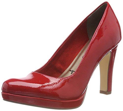 Scarpe Rosso Tacco 520 Patent Donna Tamaris con 22426 Chili TzgXnnq5x