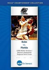 1998 NCAA(r) Division I  Women's Basketball Regional Semi Finals - Duke vs. Florida