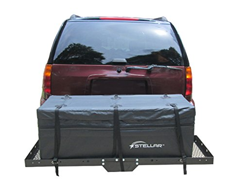 Stellar 10102 Expandable Waterproof Cargo Bag for Hitch Baskets by Stellar (Image #1)