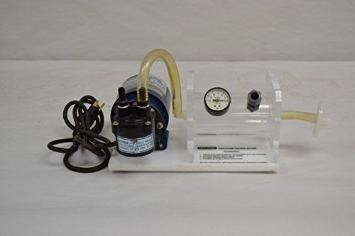 Bio Rad Laboratories 250Br Vacuum Pump Regulator 120V Ac 20In Hg 1100Cfm D204514