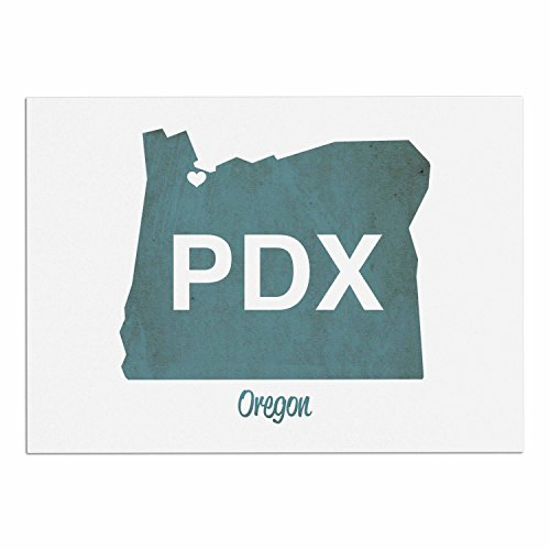 "50%OFF KESS InHouse PO1002ADM02 Juan Paolo ""PDX"" Teal White Dog Place Mat, 24"" x 15"""