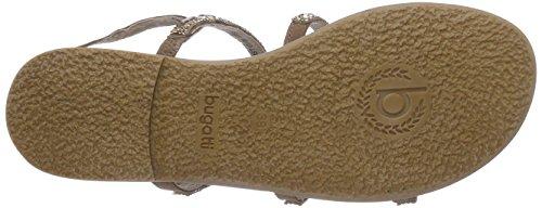 Bugatti V47853G - Sandalias de vestir de cuero para mujer beige - Beige (sand 240)