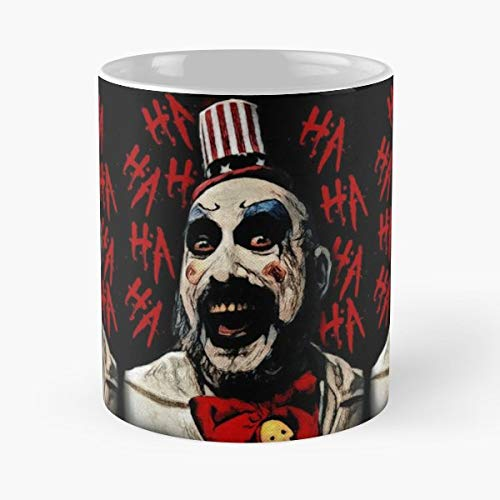 - Captain Spaulding House Of 1000 Corpses Horror Devils Rejects - Funny Gifts For Men And Women Gift Coffee Mug Tea Cup White 11 Oz The Best Gift Holidays.