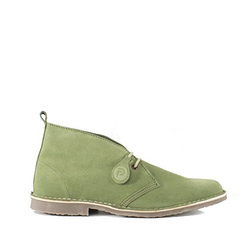 Suede Forest Green Casual Leather Mens Summer Popps Unisex Boots Chukka Desert Womens Real 6nTIw7PqH