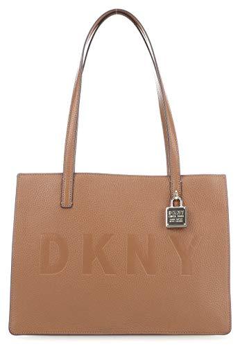 DKNY Commuter Borsa camel mano a RqYFSR0