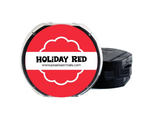 PSA Essentials Ink Pad, Holiday Red