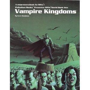 Rifts World Book 1: Vampire Kingdoms