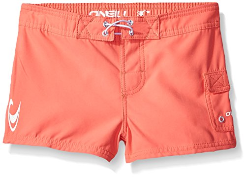 O'Neill Big Girls' Cowell Boardshort, Coral, 7