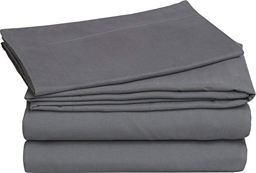 - Qusleep Cotton Duvet Cover for Weighted Blanket (60''×80'') - Grey Luxury