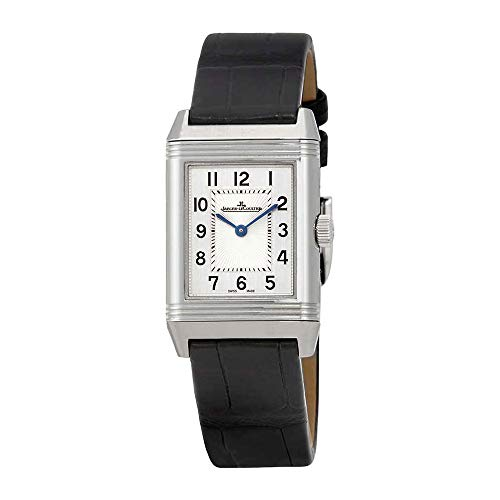 Jaeger LeCoultre Reverso Classic Silver Dial Ladies Leather Watch ()