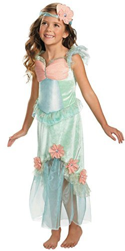 Mystical Costumes Mermaid Girls (Disguise Secret Fairytale Mystical Mermaid Girl's Costume, 3T-4T by)