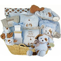 Personalized Puppy Love Moses Basket