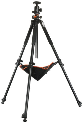 Vanguard Alta Pro 263AB 100 Aluminum Tripod with SBH-100 Ball Head for Sony, Nikon, Canon DSLR Cameras, Black