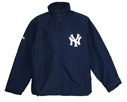 Majestic New York Yankees Small Full Zipper Jacket - Navy