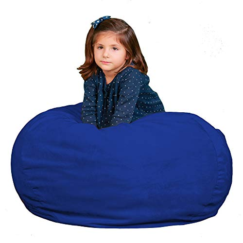 Kids Bean Bag Chair Premium Cozy Foam Filled Cozy Bean Bag -