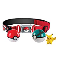 Pokemon T18889D Clip and Carry Poke Ball Belt Costume