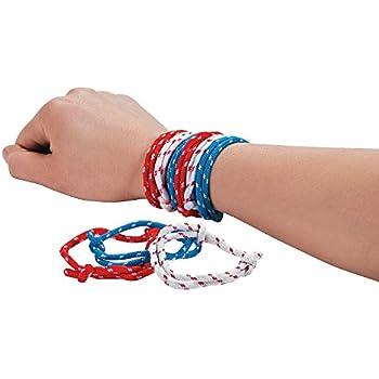 amazoncom 48pcs slap bracelets party favors 12 different